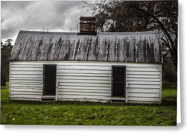 Slave House  Greeting Card by John McGraw