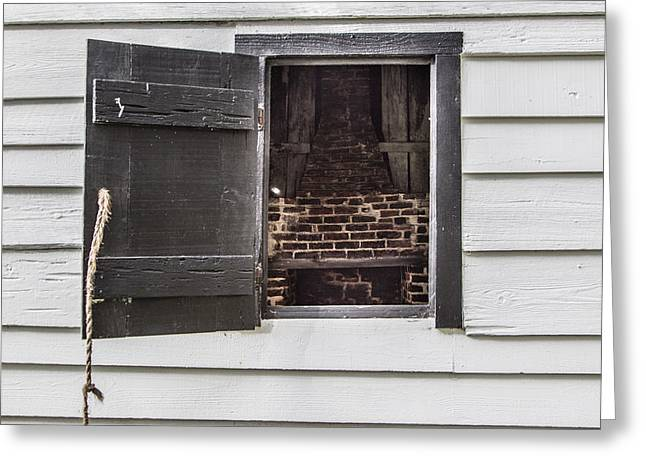Slave House Window  Greeting Card by John McGraw