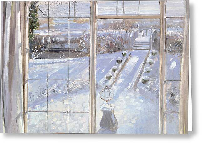 Sleeper Greeting Card by Timothy Easton