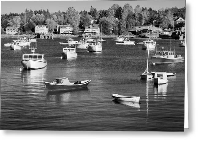 sleeping boats II Greeting Card by Jon Glaser