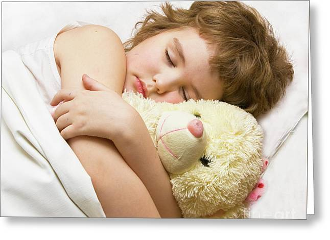 Sleeping Boy Greeting Card