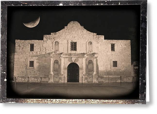 Carol Groenen Greeting Cards - Sleeping Spirit of the Alamo Greeting Card by Carol Groenen