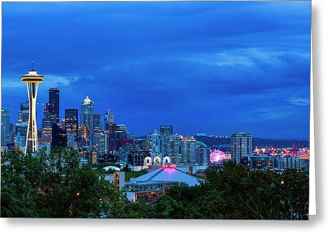 Sleepless In Seattle Greeting Card by Stephen Stookey