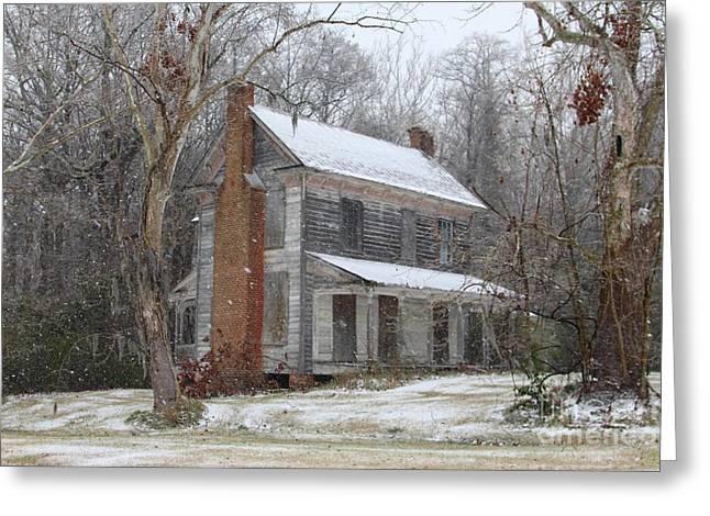 Sleepy Hollow Harrison Blount House Greeting Card