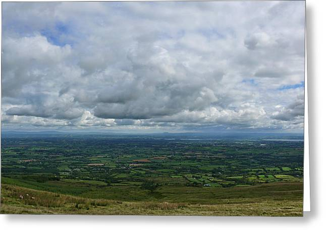 Slieve Gallion View Greeting Card by SleepyCat Photos