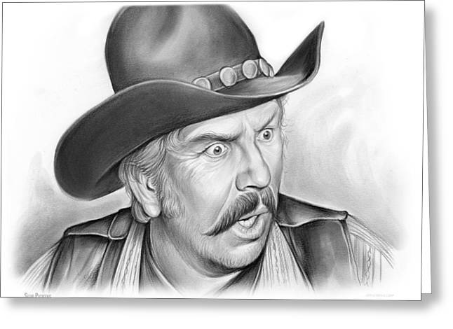 Slim Pickens Greeting Card