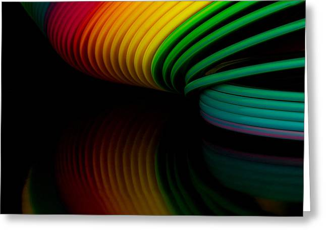 Slinky II Greeting Card