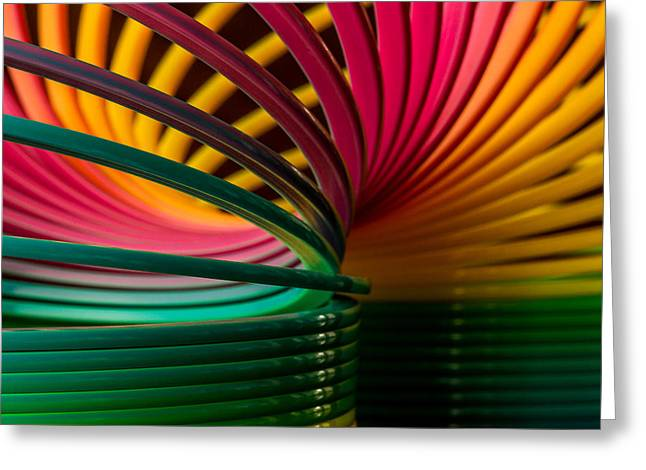 Slinky IIi Greeting Card