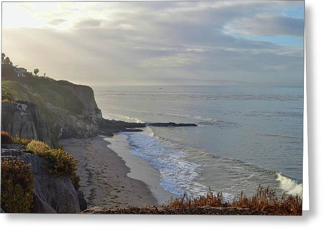 Slo Views Greeting Card by JAMART Photography