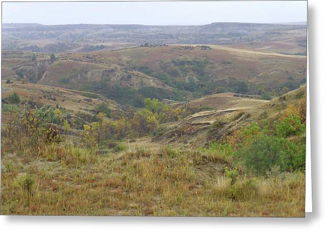 Greeting Card featuring the photograph Slope County In The Rain by Cris Fulton