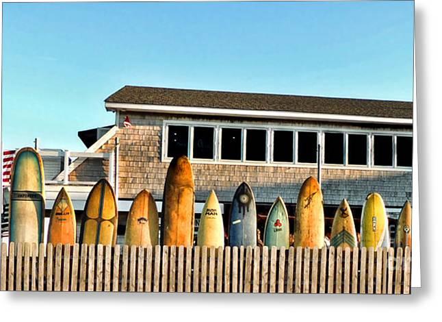 Sloppy Tuna Restaurant, Montauk Long Island Greeting Card by Joan  Minchak