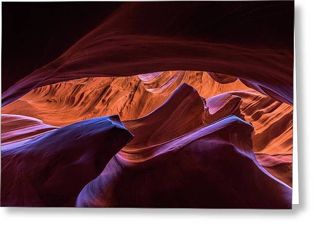 Greeting Card featuring the photograph Lower Antelope by Chuck Jason