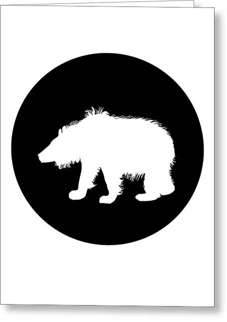 Sloth Bear Greeting Card