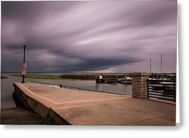 Slow Summer Storm Greeting Card