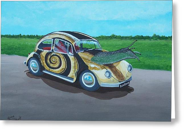 Slug Bug Greeting Card