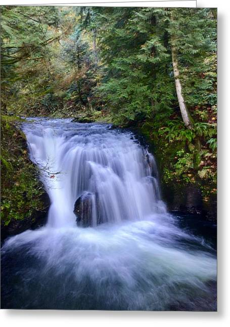 Small Cascade Greeting Card