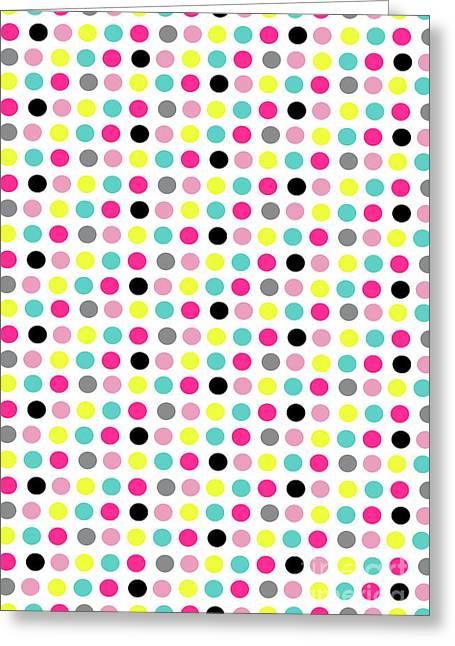 Small Dots Greeting Card