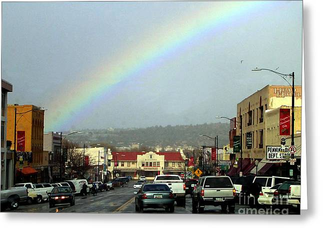 Greeting Card featuring the photograph Small Town Living by Beauty For God