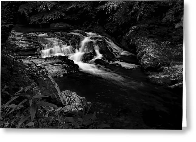 Small Waterfalls Greeting Card