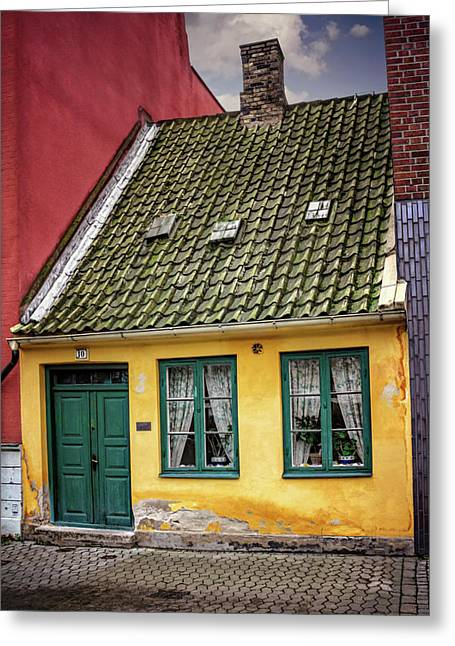 Smallest House In Malmo Sweden Greeting Card