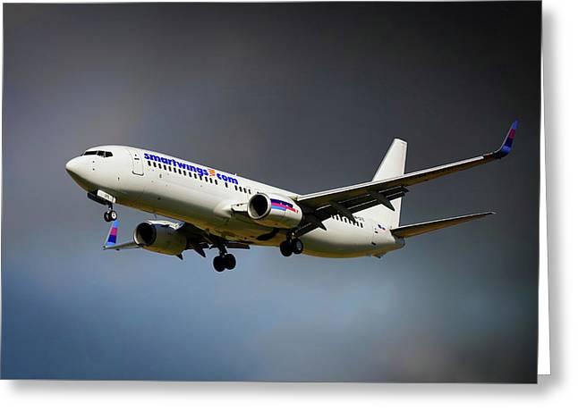 Smartwings Boeing 737-900er Greeting Card