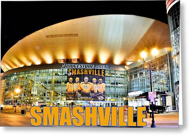 Smashville Greeting Card