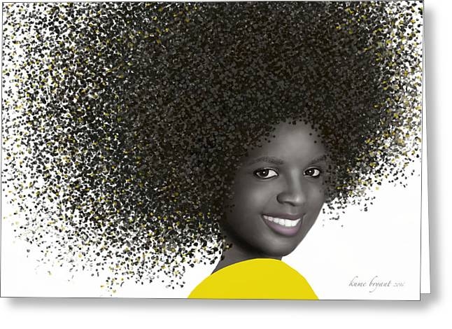 Smile 4 Greeting Card by Kume Bryant