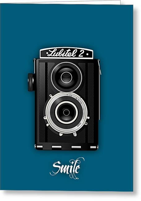Smile For The Camera Greeting Card by Marvin Blaine