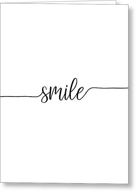 Smile Greeting Card by Jaime Friedman