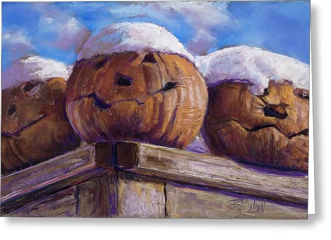 Smilin Jacks Greeting Card by Billie Colson