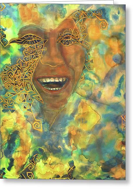 Smiling Muse No. 3 Greeting Card