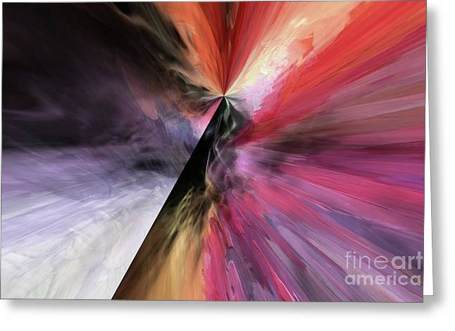 Greeting Card featuring the digital art Smite The Evil  by Margie Chapman