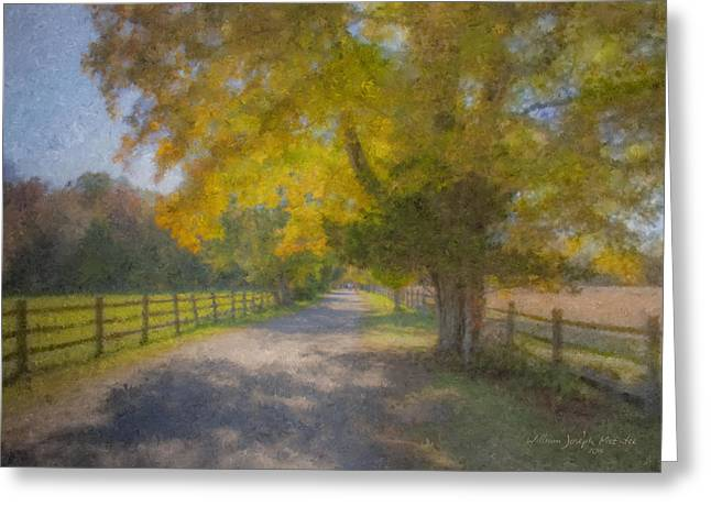 Smith Farm October Glory Greeting Card