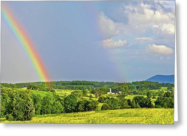 Smith Mountain Lake Rainbow Greeting Card