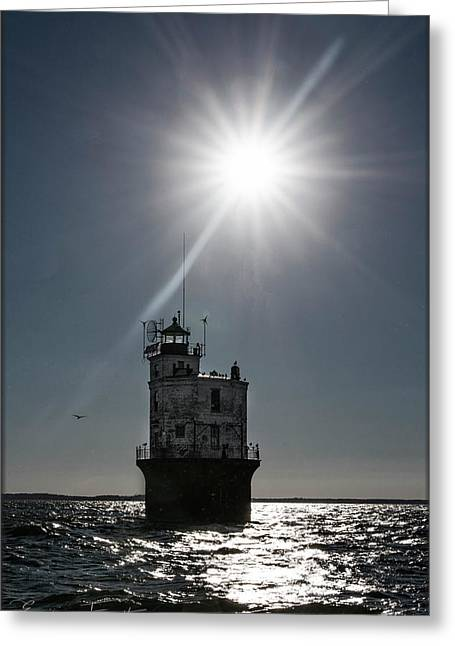 Smith Point Lighthouse Greeting Card
