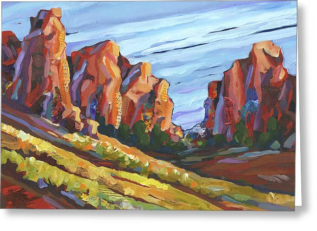 Smith Rock I Greeting Card