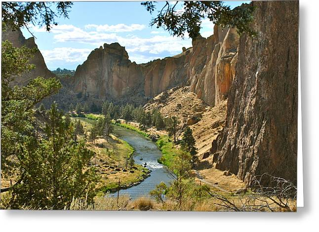 Smith Rock State Park Greeting Card