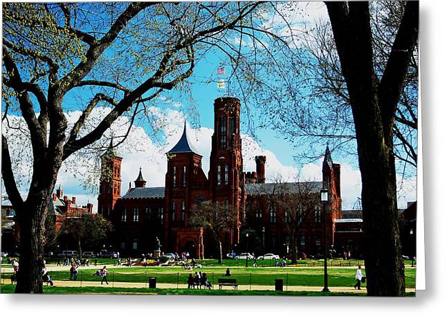 Smithsonian In The Spring Greeting Card