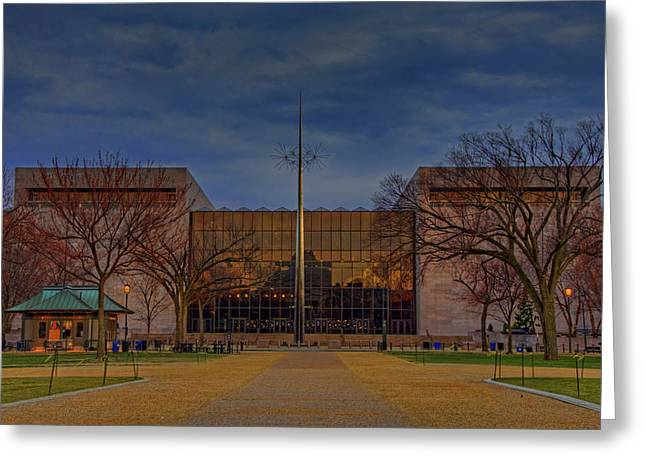Smithsonian National Air And Space Museum Greeting Card by Craig Fildes