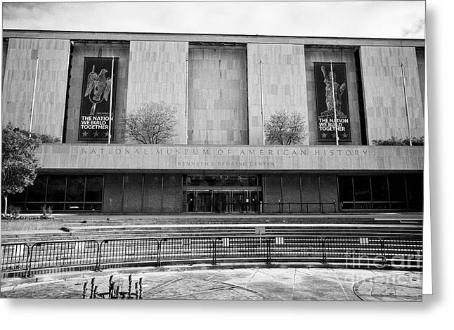 smithsonian national museum of american history kenneth behring center Washington DC USA Greeting Card