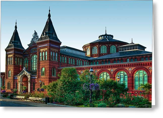 Smithsonian's Arts And Industries Building Greeting Card