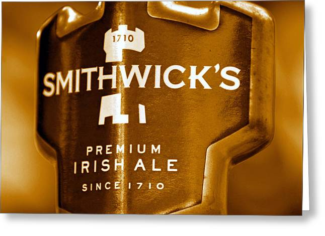Smithwicks Beer 1710 Greeting Card by David Lee Thompson