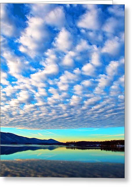 Sml Sunrise Greeting Card by The American Shutterbug Society