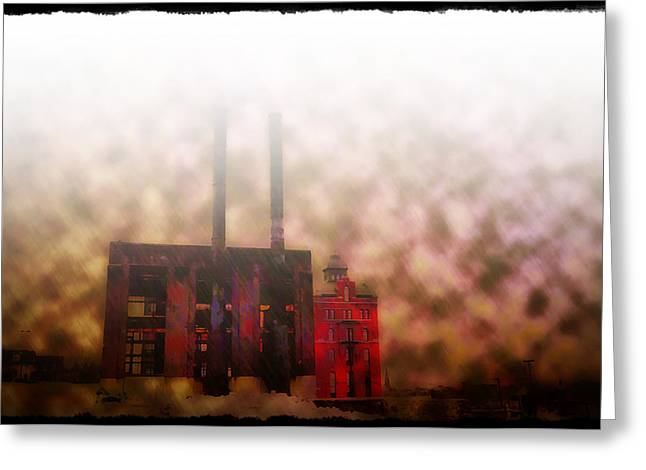 Smoggy Day Greeting Card by Bill Cannon