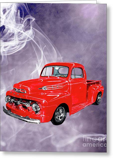 Smok N Hot 52 Ford F 100 Greeting Card