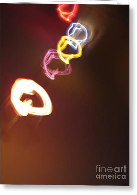 Greeting Card featuring the photograph Smoke In Colors by Ausra Huntington nee Paulauskaite