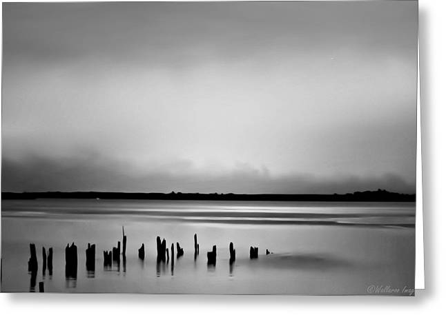 Smoke On The Water Greeting Card by Wallaroo Images