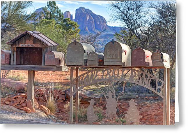 Smoke Trail Ranch Greeting Card