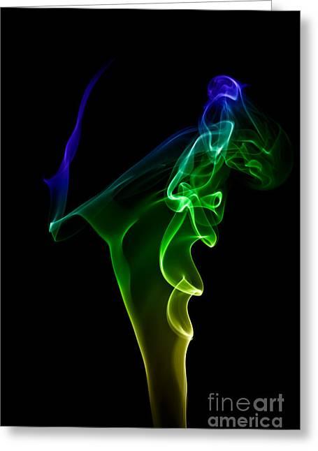 smoke XIV Greeting Card