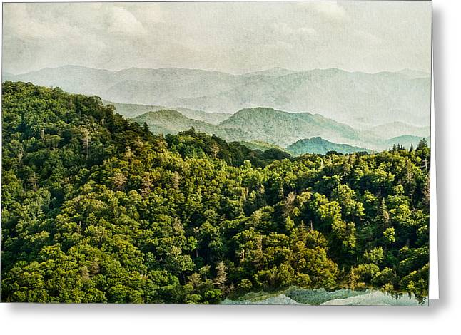 Smoky Mountain Reflections Greeting Card